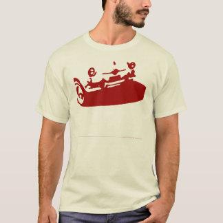 Camiseta Detalhe de Fiat 600 - obscuridade - vermelho em