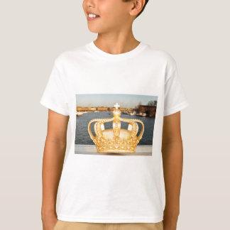 Camiseta Detalhe de ponte dourada da coroa em Éstocolmo,