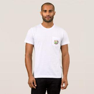 Camiseta Detector de metais: Parte dianteira do emblema,