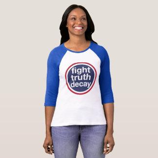 Camiseta Deterioração da verdade da luta