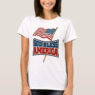 Camiseta Deus abençoe América