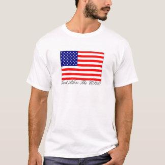 Camiseta Deus abençoe os EUA