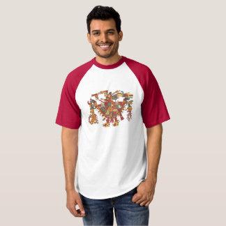Camiseta Deus asteca