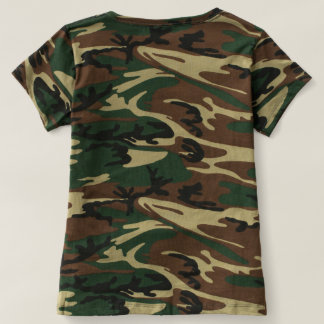 Camiseta deus do exército um