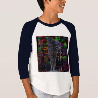 Camiseta Deusa abstrata do Aquário