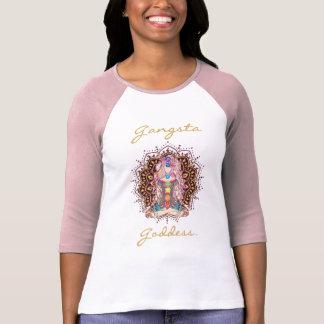 Camiseta Deusa de Gangsta - o t-shirt das mulheres de