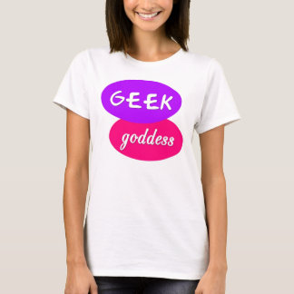 Camiseta Deusa do geek