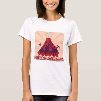 Camiseta Deusa do vulcão de Pele