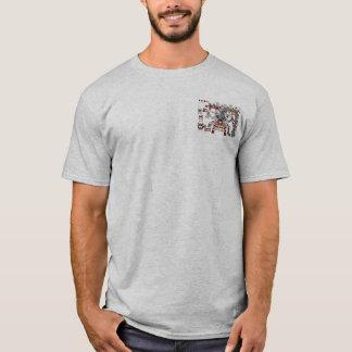 Camiseta Deuses astecas