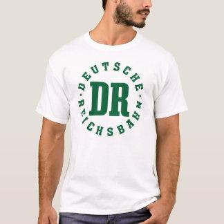 Camiseta Deutsche Reichsbahn, estrada de ferro de East