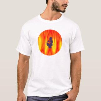 Camiseta Devil diabo flauta flute pan
