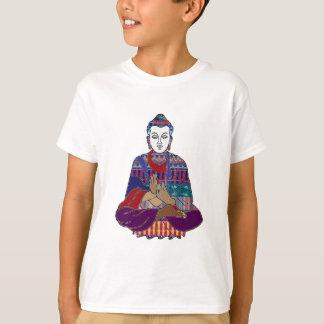 Camiseta Devoção amável NVN634 da luz do amor do budismo de
