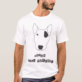 Camiseta Devon bull terrier - remendo