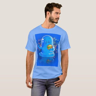 Camiseta Dez monstro pequenos: Boris o t-shirt da gota