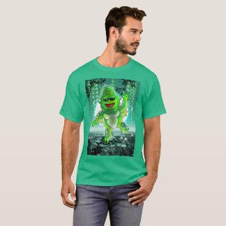 Camiseta Dez monstro pequenos: Carl o t-shirt da criatura