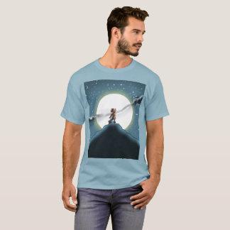 Camiseta Dez monstro pequenos: Willie o t-shirt do uivo do