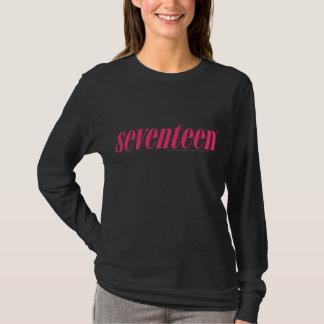 Camiseta Dezessete Logotipo-Magentas