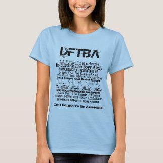 Camiseta DFTBA, t-shirt de Nerdfighter