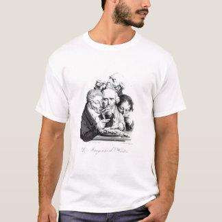 Camiseta d'Huitres de Les Mangeurs, 1825