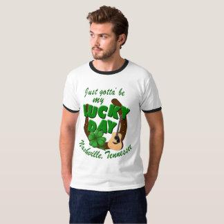 Camiseta Dia afortunado de Nashville
