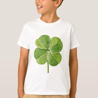 Camiseta Dia afortunado verde de Patrick de santo do trevo