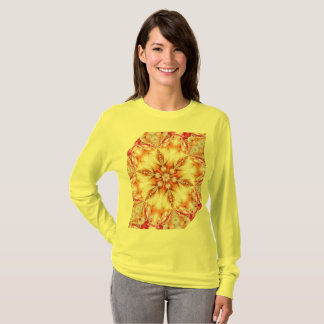 Camiseta Dia amarelo feliz