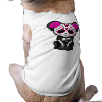 Camiseta Dia cor-de-rosa da pantera preta inoperante Cub