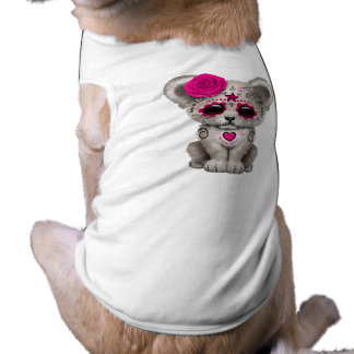Camiseta Dia cor-de-rosa do leão Cub inoperante