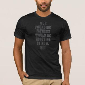 Camiseta Dia da Independência dos fundadores