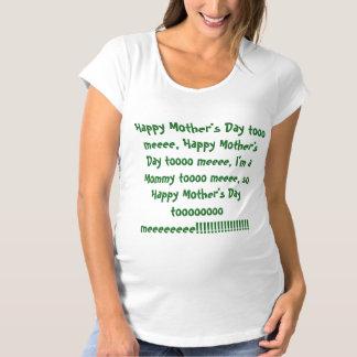 Camiseta Dia das mães feliz a mim….Camisa de maternidade da