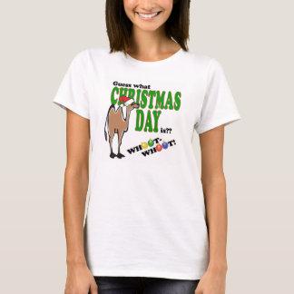 Camiseta Dia de corcunda do Natal