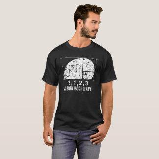 Camiseta Dia de Fibonacci, 1,1,2,3, novembro, 23, afligidos