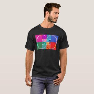 Camiseta Dia de Fibonacci, pop art, tipográfico