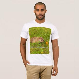 Camiseta Dia de Groundhog Hoppy! t-shirt