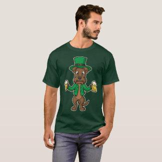Camiseta Dia de São Patrício das cervejas de Terrier
