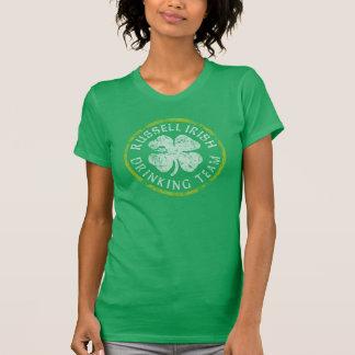 Camiseta Dia de São Patrício irlandês da equipe do bebendo