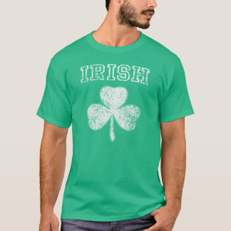Camiseta Dia de São Patrício irlandês do trevo