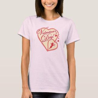 Camiseta Dia de são valentim com t-shirt do Cupido