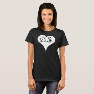 Camiseta Dia de são valentim engraçado do amante do gato