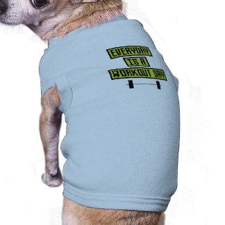 Camiseta Dia diário Z81fo do exercício
