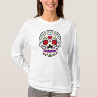 Camiseta Dia do açúcar inoperante Crânio Diâmetro de los