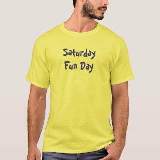 Camiseta Dia do divertimento de sábado