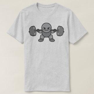 Camiseta Dia do pé - ocupa - Weightlifter de Kawaii