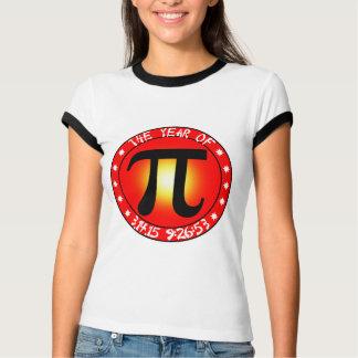 Camiseta Dia do Pi - ano de Pi 3/14/15 de 9:26: 53