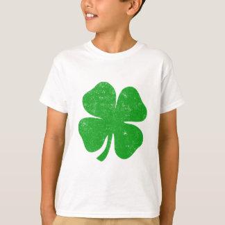 Camiseta Dia do St. Patricks do trevo de quatro folhas