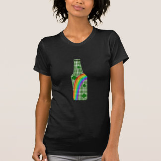 Camiseta Dia do St. Patricks - garrafa