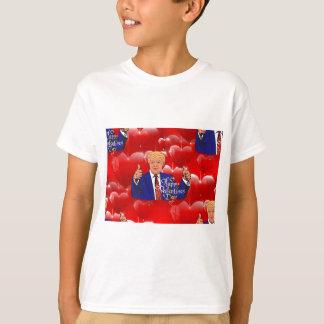 Camiseta dia dos namorados Donald Trump