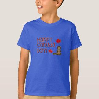 Camiseta Dia feliz 3 de Canadá