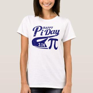 Camiseta Dia feliz do Pi