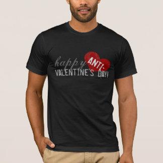 Camiseta Dia feliz dos Anti-Namorados